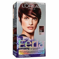 L'Oreal Paris Feria Hair Color, 22 Deep Burgundy