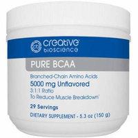 Creative Bioscience Pure BCAA Dietary Supplement, 5000mg, 5.3 oz