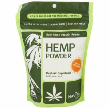 Navitas Naturals Organic Raw Hemp Protein Powder, 12 oz