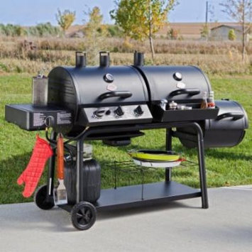 Char-Griller Trio Gas/Charcoal/Smoker Grill