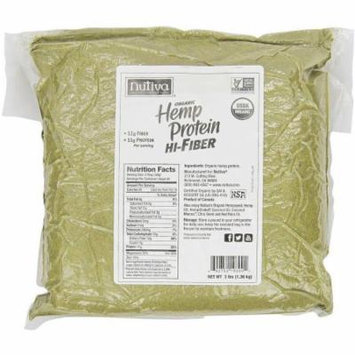 Nutiva Organic Hemp Protein Hi-Fiber Superfood Protein Powder, 3 lbs