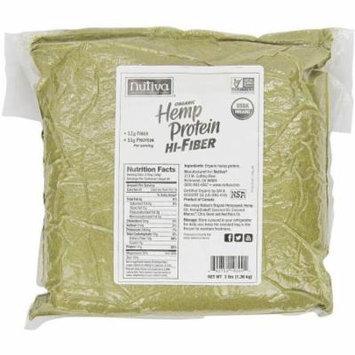 Nutiva Organic Hemp Protein Hi-Fiber Superfood Protein Powder, 3 lbs