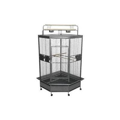 A & E Cage Co. Large Corner Bird Cage