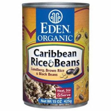Eden Caribbean Rice & Black Beans, Organic, 15 Ounce (Pack of 6)