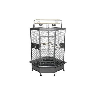 A & E Cage Co. Large Corner Bird Cage