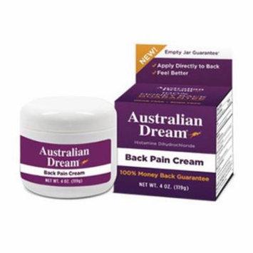 Australian Dream Back Pain Cream - 4 oz