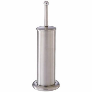STAINLESS TOILET BRUSH W/STAND