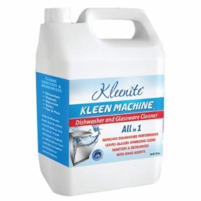 Kleenite Kleen Machine Dishwasher And Glassware Cleaner - 20.3 Oz