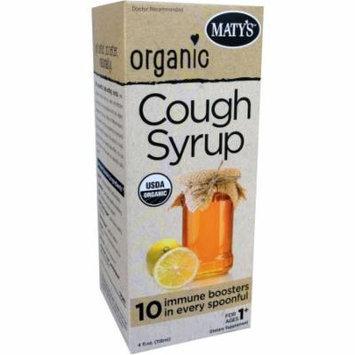 Maty's Organic Cough Syrup, 4 fl oz