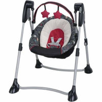Graco Swing By Me 2-in-1 Portable Swing, Chalk Art