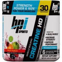BPI Sports Fruit Punch Creatine HD Dietary Supplement Powder, 8.82 oz