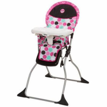 Disney Simple Fold Plus High Chair, Minnie Dottie
