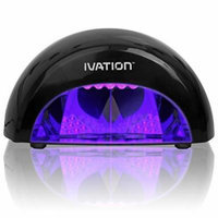 Nail Polish LED Light 12W Dryer Acrylic Gel Shellac Manicure Curing Lamp - Safer Than Traditional UV Lamps - Portable w/ One Touch Presets - Automatic Shutoff