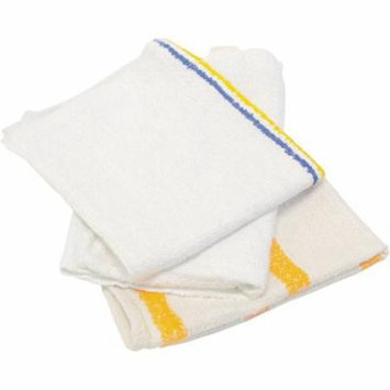 Hospital Specialty Co. Value Choice White Counter Cloth/Bar Mop, 25 count