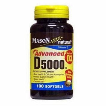 Mason Natural Advanced Vitamin D 5000 Iu Softgels - 100 Ea