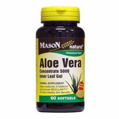 Mason Natural Aloe Vera 5000 Mg Equivalency Softgels - 100 Ea