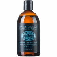 Le Savonnier Marseillais Peppermint Liquid Body Soap, 16.9 fl oz