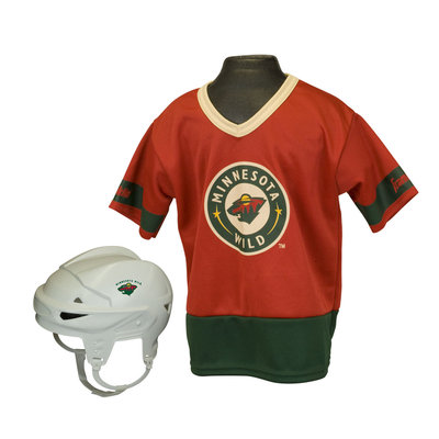 Franklin Sports NHL Minnesota Wild Kids Team Set