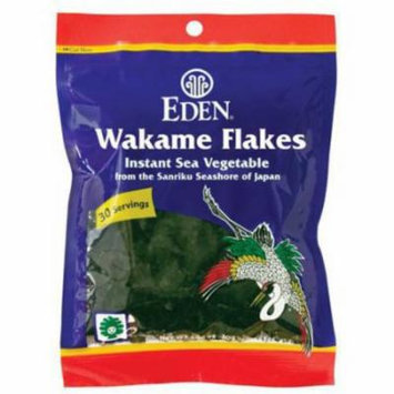 Eden Wakame Flakes - Instant - cultivated, 1.06 Ounce (Pack of 2)