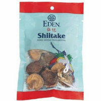 Eden Shiitake Mushrooms, Whole Dried, .88 Ounce (Pack of 6)