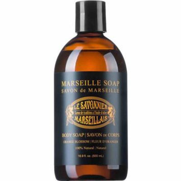 Le Savonnier Marseillais Orange Blossom Liquid Body Soap, 16.9 fl oz