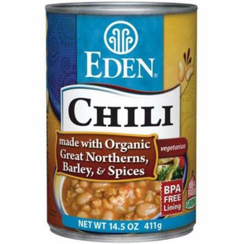 Eden Chili - Great Northern & Barley, 14.5 Ounce (Pack of 6)