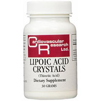 Cardiovascular Research Thioctic Supplement, 30 Gram