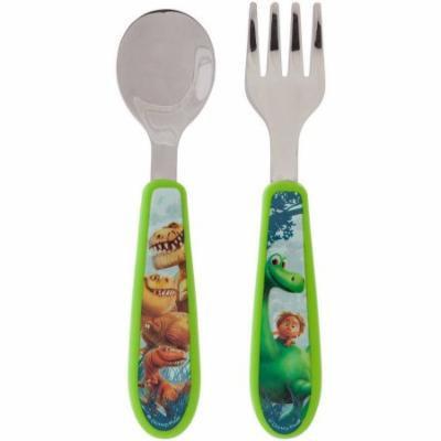 The First Years Disney/Pixar The Good Dinosaur Easy Grasp Flatware, BPA-Free