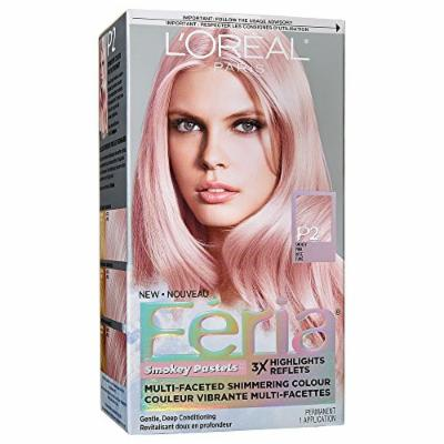 L'Oreal Paris Hair Color Feria Pastels Dye, Smokey Pink P2