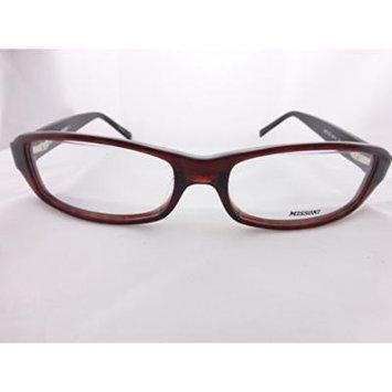 Missoni Vintage Eyeglasses Frame, Black & Red Eyeglasses Frame, Mod. Mi01103