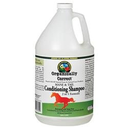 Organically Correct Mane-N-Tail Conditioning Cream and Rinse for Horses