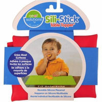 Neat Solutions Sili-Stick Silicone Reusable Placemat, BPA-Free, Red