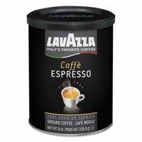 Lavazza Caffe Espresso Ground Coffee, Dark Roast, 8 oz Can -LAV1450