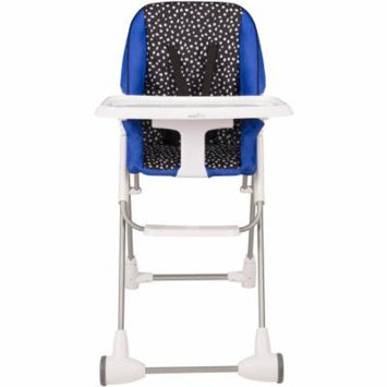 Evenflo Symmetry Flat Fold High Chair, Hayden Dot
