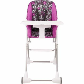 Evenflo Symmetry Flat Fold High Chair, Daphne