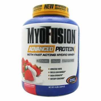 Gaspari Nutrition MyoFusion Advanced Protein Strawberries & Cream - 4 LBS