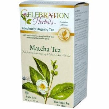 Celebration Herbals Matcha Bulk Tea, 1.41 oz, (Pack of 3)