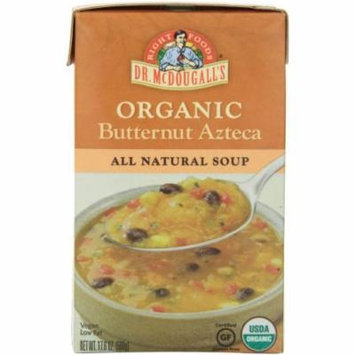 Dr. McDougall's Organic Butternut Azteca All Natural Soup, 17.6 oz, (Pack of 6)