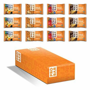 PROBAR Meal Bar, Variety Pack, 3 Ounce, 12 Count