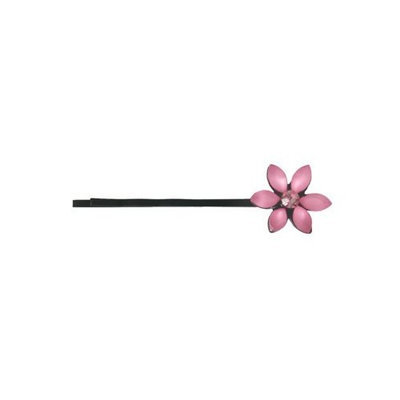 Smoothies Sparkle Flower Bob Pin-Pink 01632