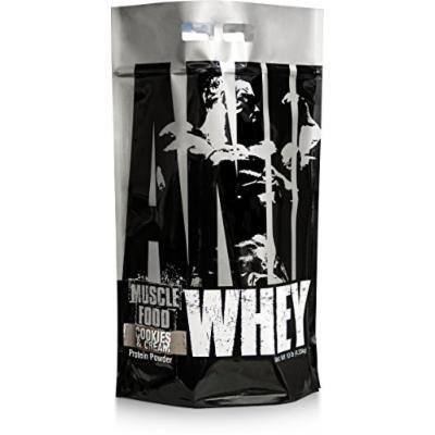 Universal Nutrition Animal Whey Isolate Loaded Whey Protein Powder Supplement, Cookies and Cream, 10 Pound