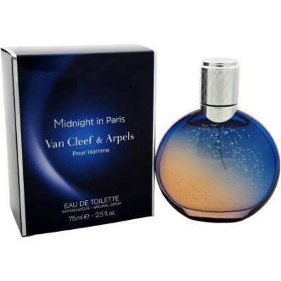 Van Cleef & Arpels Midnight in Paris for Men Eau de Toilette Natural Spray, 2.5 fl oz