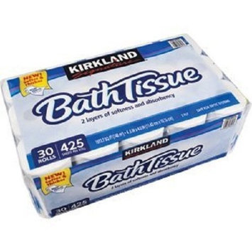 Kirkland Signature Embossed Bath Tissue, 30 Rolls, 425 Sheets Per Roll