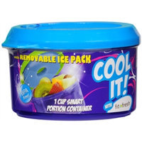 Fit & Fresh 1 Cup Smart Portions Chill Container Set - School Supplies