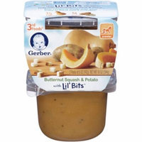 Gerber 3rd Foods Butternut Squash & Potato with Lil' Bits, 5 oz, 2 count, (Pack of 6)