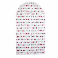Clothes Suit Garment PEVA Dots Pattern Dustproof Cover Bag 43