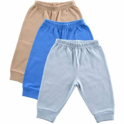 Luvable Friends Newborn Baby Boys Pants 3-Pack