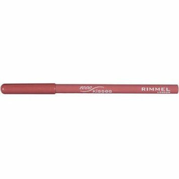 Rimmel London 1000 Kisses Stay On Lip Liner Pencil, 011 Spice, 0.04 oz