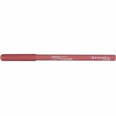 Rimmel London 1000 Kisses Stay On Lip Liner Pencil, 011 Spice, 0.04 oz