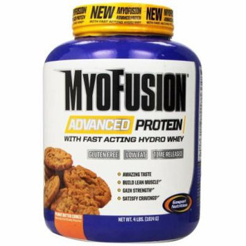 Gaspari Nutrition MyoFusion Advanced Protein Peanut Butter Cookie - 4 LBS